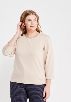 Блуза S&A Style. Цвет: бежевый