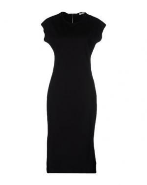 Платье до колена DAGMAR. Цвет: черный