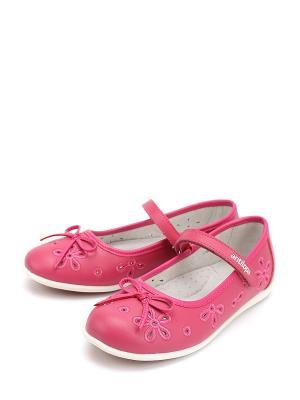 Туфли Антилопа. Цвет: фуксия