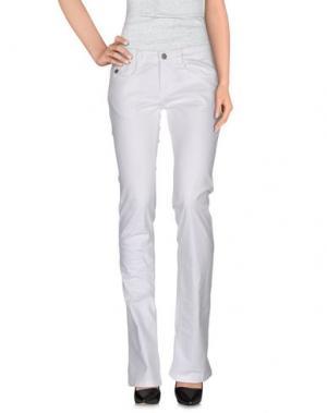 Повседневные брюки PIRELLI PZERO. Цвет: белый