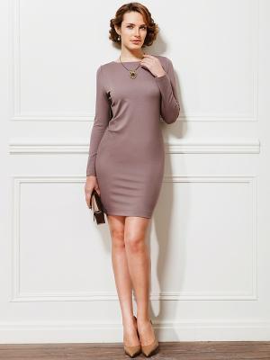 Платье La vida rica. Цвет: серо-коричневый
