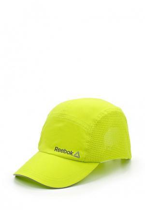 Бейсболка Reebok. Цвет: желтый