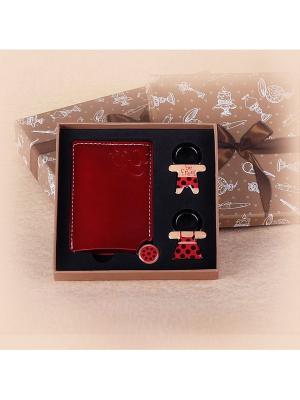 Подарочный набор Magic Home. Цвет: темно-красный