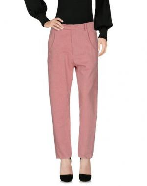 Повседневные брюки NOVEMB3R. Цвет: кирпично-красный