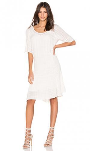Платье maryann Velvet by Graham & Spencer. Цвет: беж