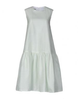 Платье до колена JOURDEN. Цвет: светло-зеленый