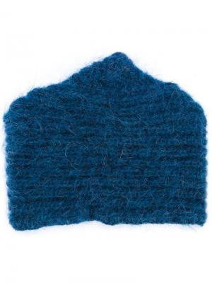 Bo knitted  cap Reality Studio. Цвет: синий