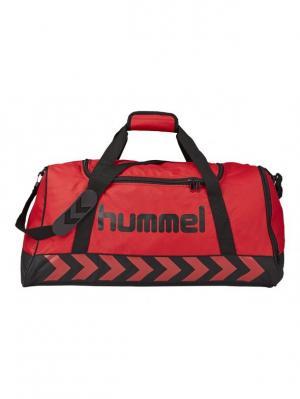 Сумка AUTHENTIC SPORTS BAG HUMMEL. Цвет: красный, черный