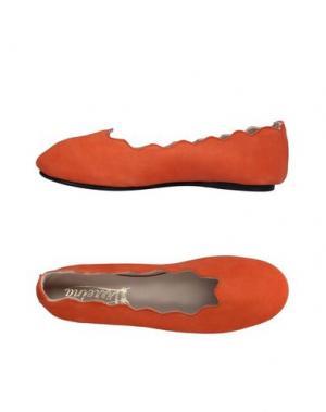 Балетки VIRREINA. Цвет: оранжевый