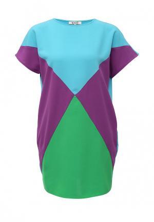 Платье MAST. Цвет: разноцветный