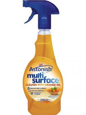 Astonish orange унив.ср-во д/очистки любых поверхностей с ароматом апельсина, 750 мл распыл.. Цвет: оранжевый