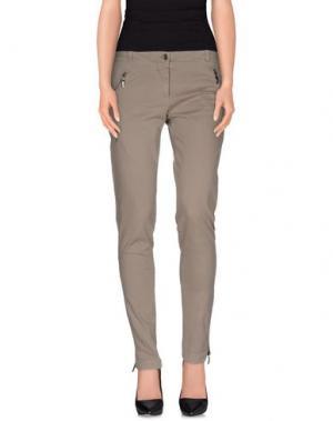 Повседневные брюки DIVINA. Цвет: серый