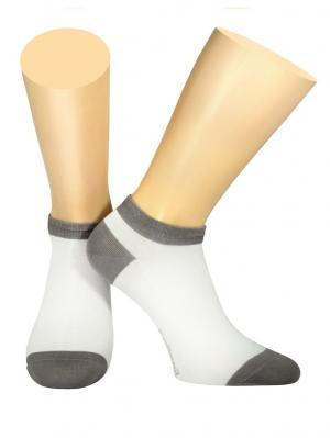Носки Collonil. Цвет: серый, белый