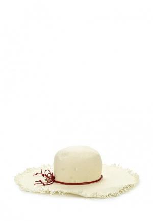 Шляпа Patrizia Pepe. Цвет: бежевый