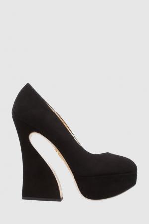 Замшевые туфли Millicent Charlotte Olympia. Цвет: none