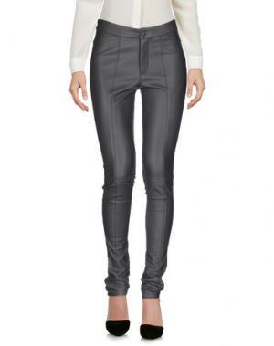 Повседневные брюки FOREVER UNIQUE. Цвет: серый