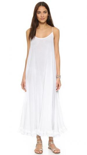 Макси-платье Mara Rhode Resort. Цвет: белый