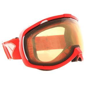 Маска для сноуборда  Bomber Nw Icon Red Yellow I/S Eyewear. Цвет: красный,оранжевый