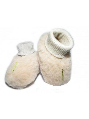 Пинетки - носочки Холти. Цвет: бежевый