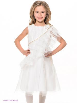 Платье Stillini. Цвет: белый