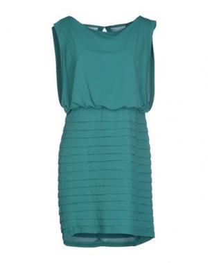 Короткое платье HOPE COLLECTION. Цвет: изумрудно-зеленый