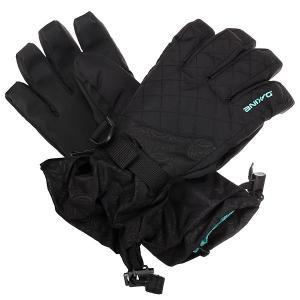 Перчатки сноубордические женский  Lynx Glove Tory Dakine. Цвет: черный