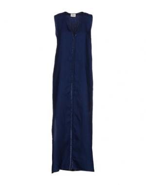 Длинное платье BELAIR. Цвет: синий
