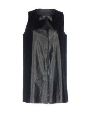 Легкое пальто TWELVE-T. Цвет: черный