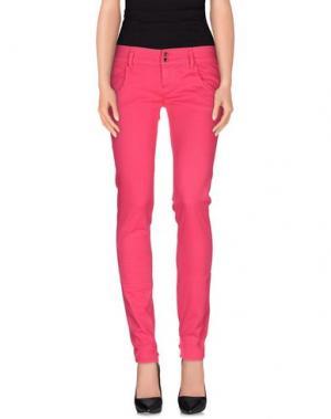 Повседневные брюки CYCLE. Цвет: фуксия