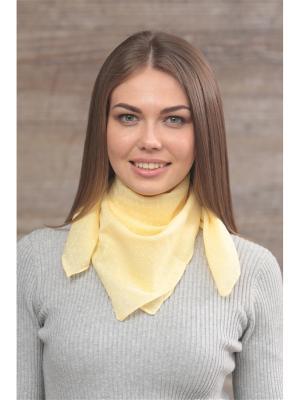 Платок FOMAS. Цвет: желтый