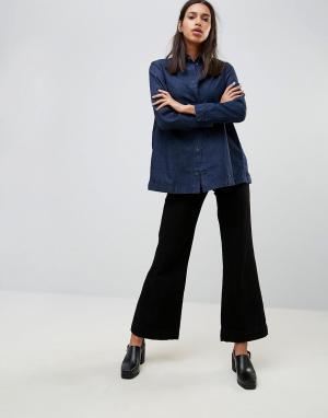 Waven Расклешенные джинсы Fenn. Цвет: черный