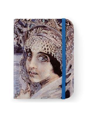 Флорентийская записная книжка. Царевна-Лебедь Власта. Цвет: голубой, черный, серый