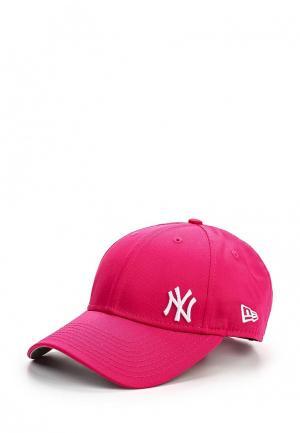 Бейсболка New Era. Цвет: розовый