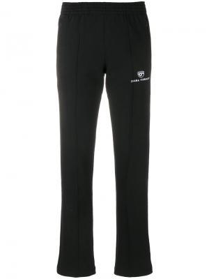 Укороченные брюки Chiara Ferragni. Цвет: чёрный