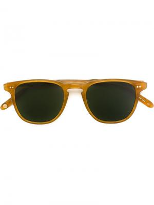 Солнцезащитные очки Brooks Garrett Leight. Цвет: телесный