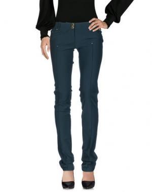Повседневные брюки CELYN B.. Цвет: темно-зеленый