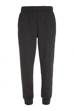 Хлопковые брюки BLANK.MOSCOW. Цвет: темно-серый