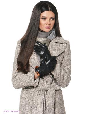 Перчатки женские Piero. Цвет: черный, коричневый
