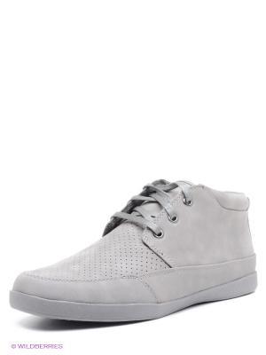Ботинки STEVE MADDEN. Цвет: серый