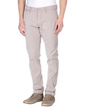 Повседневные брюки FRADI. Цвет: какао