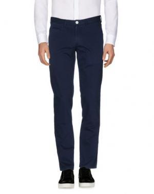 Повседневные брюки PANTONE. Цвет: синий