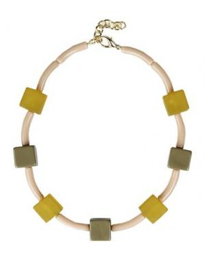 Ожерелье DETTAGLI. Цвет: серый