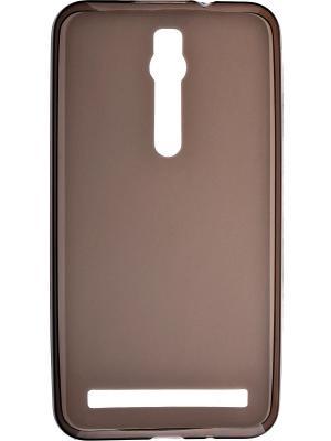 Asus Zenfone 2 (ZE551ML/ZE550ML) skinBOX silicone case 4People. Цвет: коричневый