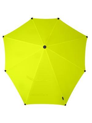 Зонт-трость senz Original bright yellow. Цвет: желтый