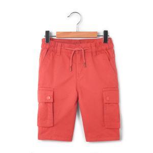 Бермуды для мальчика: La Redoute Collections. Цвет: бирюзовый,розовый