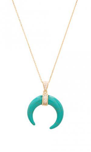 Ожерелье joolz by Martha Calvo. Цвет: металлический золотой
