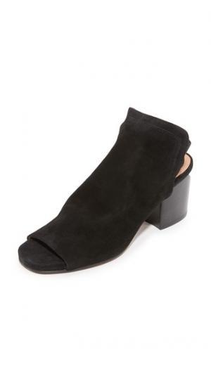 Замшевые туфли Haiti с ремешком на заднике Hudson London. Цвет: голубой