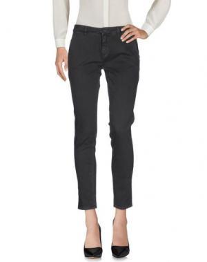Повседневные брюки INX #THINK COLORED. Цвет: стальной серый