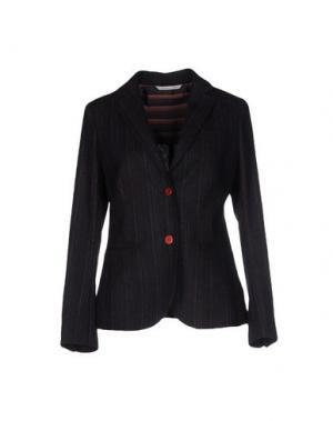 Пиджак CARLO CHIONNA. Цвет: темно-синий