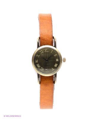 Часы Kawaii Factory. Цвет: рыжий